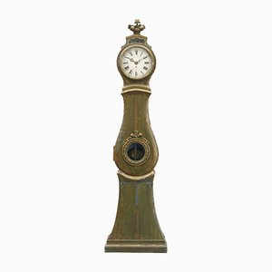 Antique Gustavian Grandfather Clock
