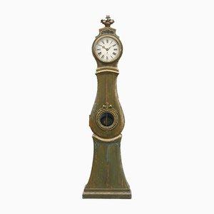 Antique Gustavian Grandfather Clock