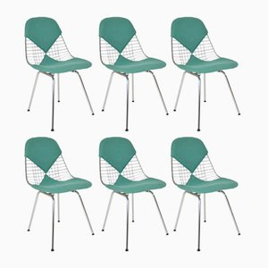 Bikini Chairs by Charles & Ray Eames for Herman Miller, 1970s, Set of 6