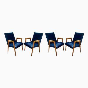 Moderne Vintage Sessel von Eugen Schmidt für Soloform, 1960er, 4er Set