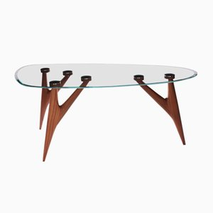 Medium Ted Glass Table by BNE for Greyge