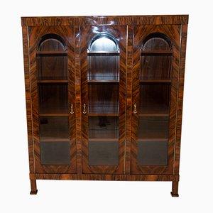 Art Deco Walnut Cabinet, 1920s