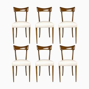 Mid-Century Italian Dining Chairs, Set of 6, 1950s