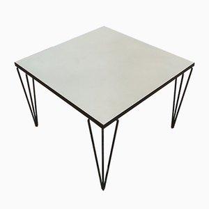 Table d'Appoint avec Pieds en Épingle, 1950s