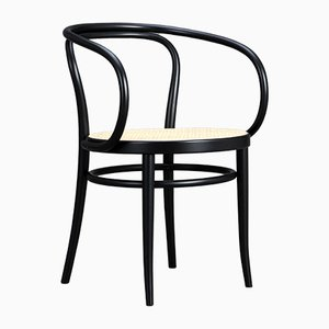 Model 209 Black Bentwood Armchair from Thonet, 1988