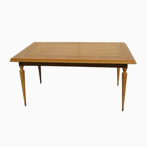 Rectangular Oak Veneer Dining Table, 1950s