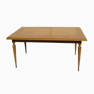 Rectangular Oak Veneer Dining Table, 1950s