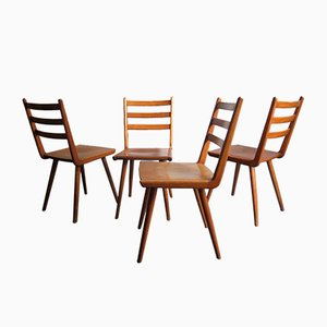 Vintage Boomerang Dining Chairs, Set of 4