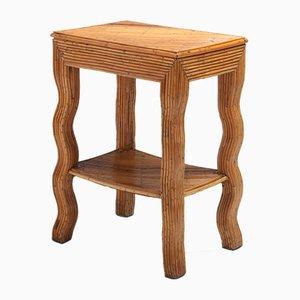 Mesa baja de bambú de Vivai Del Sud