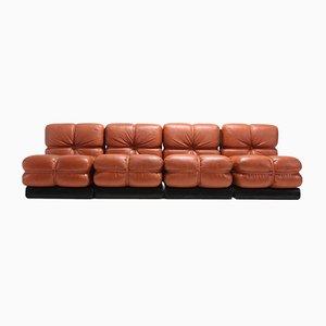 San Martino Sectional Sofa, 1980s, Set of 4