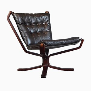 Vintage Low Back Falcon Chair by Sigurd Ressell for Vatne Møbler, 1960s