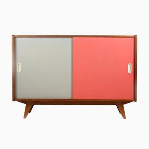 Pink & Grey Sideboard by Jiří Jiroutek for Interiér Praha, 1960s