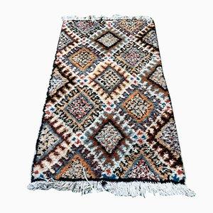 Alfombra bereber vintage de lana, años 50