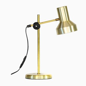 Gold Aluminium B148 Table Light from Belid AB, 1970s