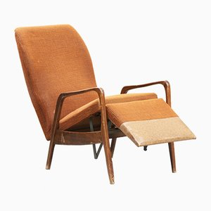 Chaise Inclinable Mid-Century, 1950s
