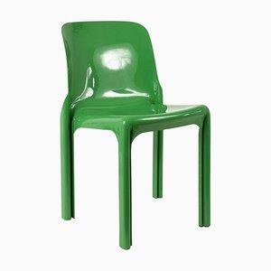 Italienischer Selene Stuhl von Vico Magistretti für Artemide, 1969