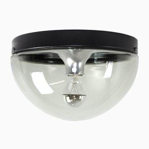 Lámpara de techo vintage de vitral de Cosack, años 70