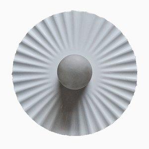 Plissé Wandlampe von Achille Castiglioni für Flos, 1986