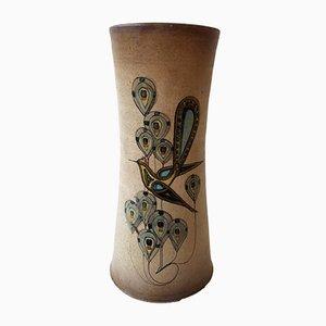 Jarrón francés de cerámica de Roger Mahéo, años 60