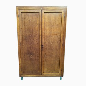 Vintage Wood Cabinet from Delagrave