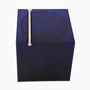 Würfelförmiger Eiskübel aus Acryl von F. Bettonica & M. Melocchi für Cini & Nils, 1970er