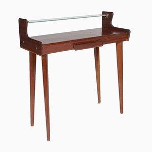 Vintage Italian Mahogany Console Table by Carlo de Carli, 1950s