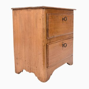 Vintage Antique Italian Bedside Table