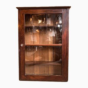 Antique Mahogany Vitrine