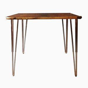 Vintage Dining Table With Hairpin Legs