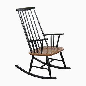 Rocking Chair Vintage par Ilmari Tapiovaara pour Asko, 1950s