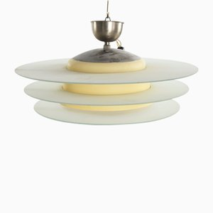 Vintage Art Deco Ceiling Lamp from Böhlmarks, 1930s