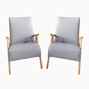 Mid-Century Austrian Armchairs, Set of 2