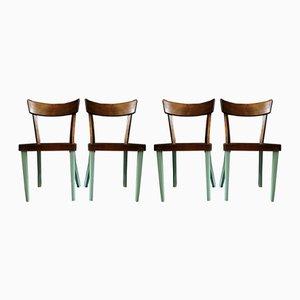 Chaises de Salle à Manger de Wiesner-Hager, Autriche, 1950s, Set de 4