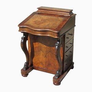 Viktorianischer Davenport Schreibtisch aus Mahagoni, 1890er