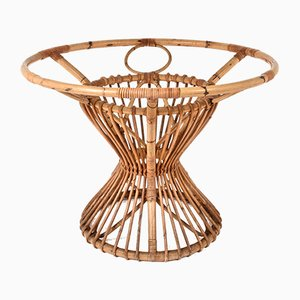 Bamboo & Rattan Table, 1960s