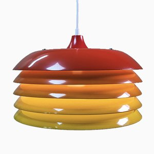 Large Swedish Pendant Lamp by Hans-Agne Jakobsson for Markaryd, 1960s