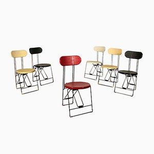 Italienische Stühle von Andries Van Onck, 1980er, 6er Set
