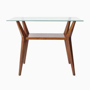 Table Basse Moderne Mid-Century en Noyer par Cesare Lacca, Italie