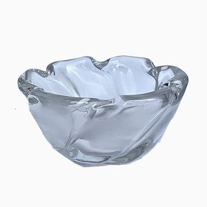 Italian Murano Glass Centerpiece Bowl, 1950s