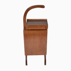 Italienischer Beistelltisch aus Holz & mittteldichter Faserplatte, 1960er