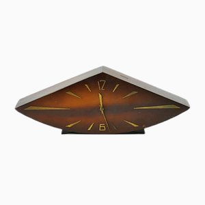 Vintage Wooden Table Clock, 1960s