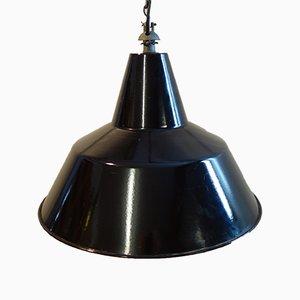 Lámpara de fábrica industrial de SEM Reluma, años 60