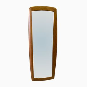 Teak Mirror by Uno & Östen Kristiansson for Fittsjö Möbel, 1960s