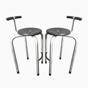 Vintage Italian Stacking Stools by Archap for Magis, Set of 2