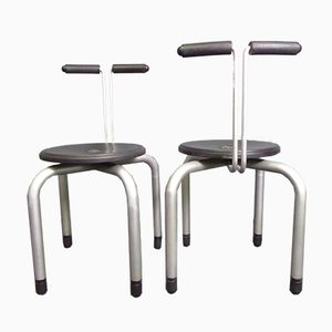 Vintage Italian Stacking Stools from Magis, 1980s, Set of 2