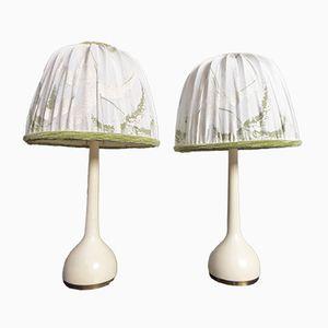 Lámparas de mesa de Hans-Agne Jakobsson para Markaryd, años 60. Juego de 2