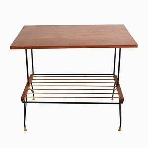 Coffee Table with Magazine Rack from Mobili Pizzetti, 1950s,