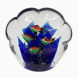 Fermacarte in vetro di Murano, anni '60