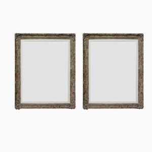 Mid-Century Mirrors, Set of 2