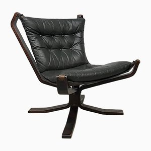 Mid-Century Danish Lounge Chair from Trygg Mobler